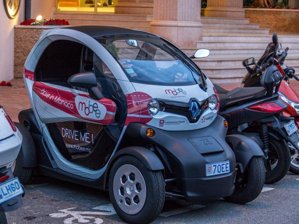 совместного использования автомобилей Монако - Mobee