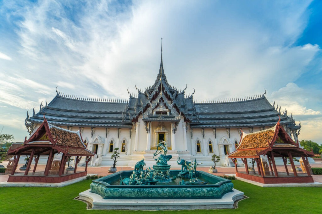 Боран Бангкок - копия Королевского дворца