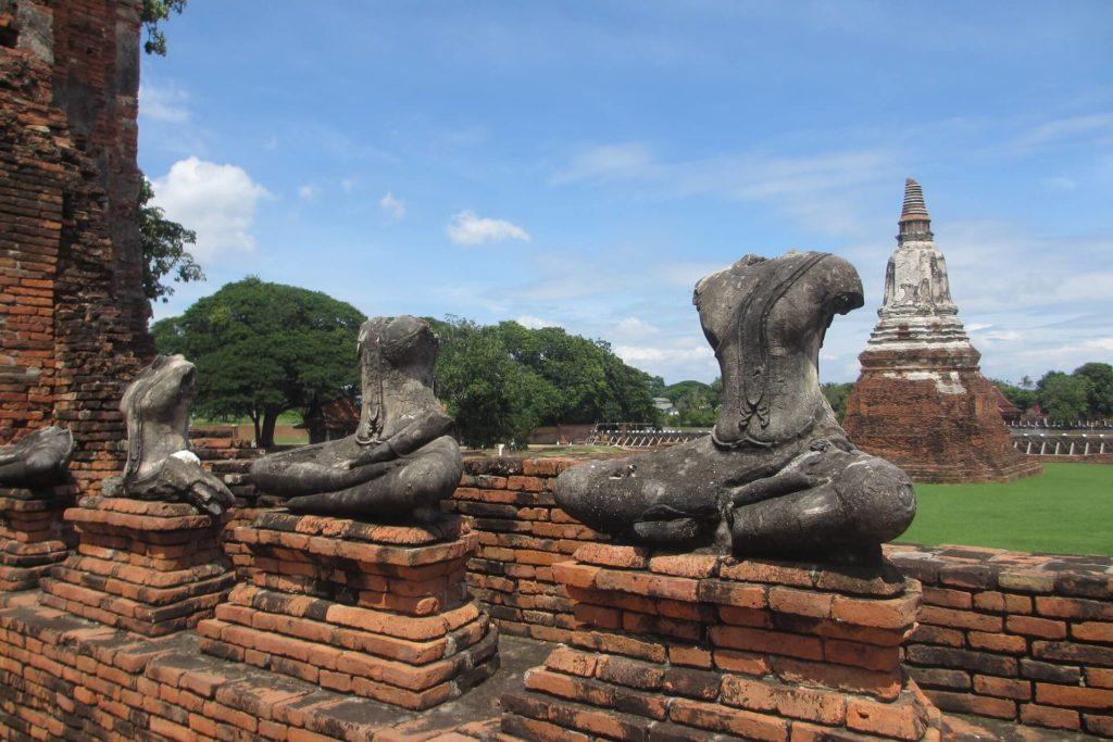 Исторический город Аюттайя Таиланд
