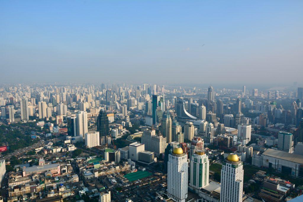 Огромный мегаполис Бангкок
