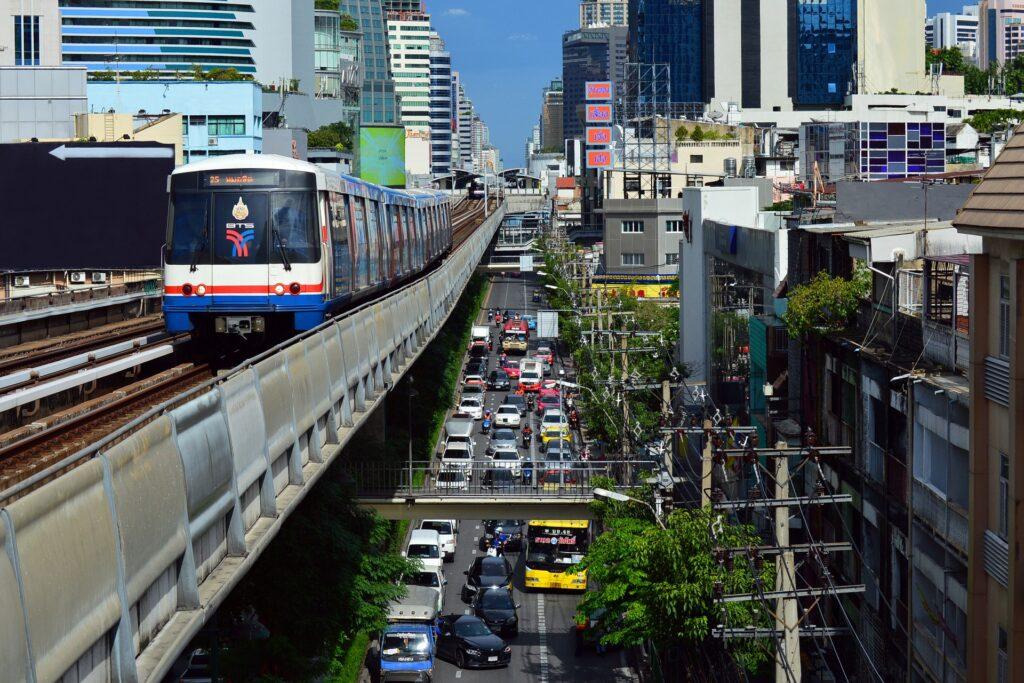 Наземное метро Бангкок