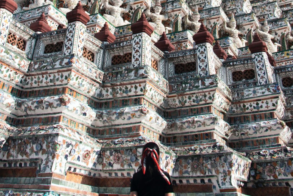 Ват Арун Бангкок - Пранг и чеди