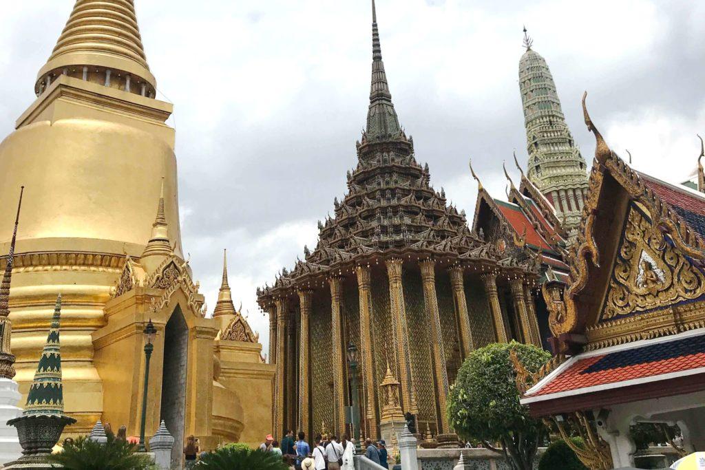 Изумрудный Будда Бангкок - Буддистская библиотека в Бангкоке
