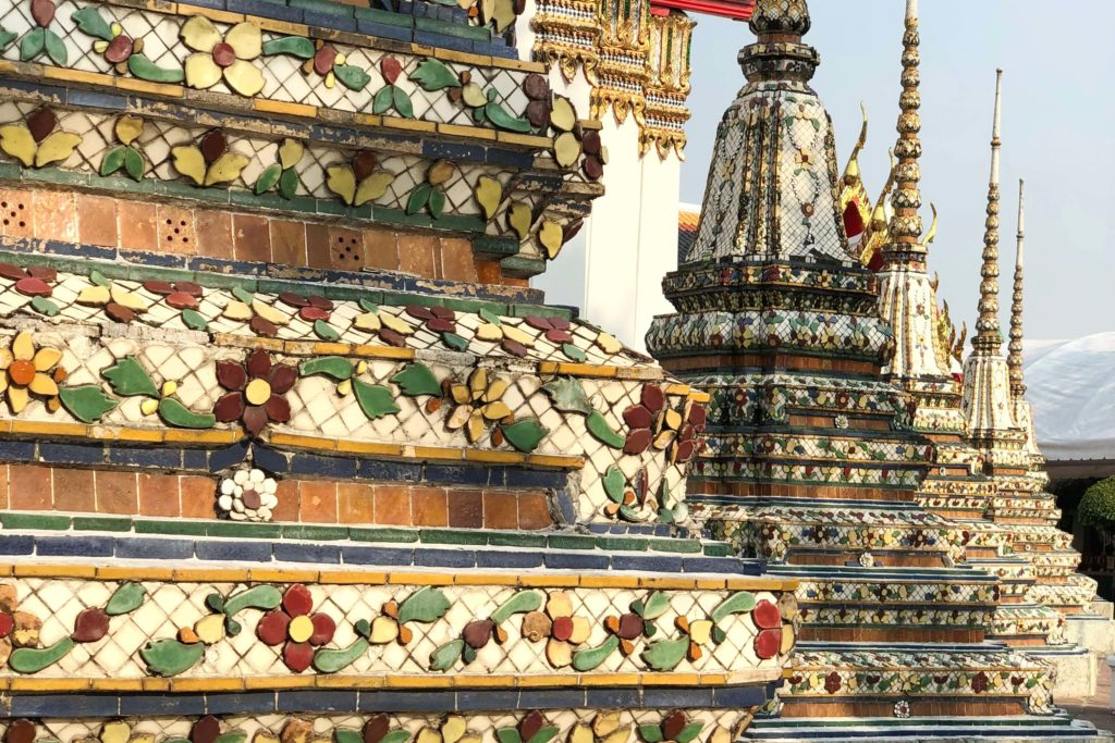 Храм спящего Будды Таиланд - Чеди