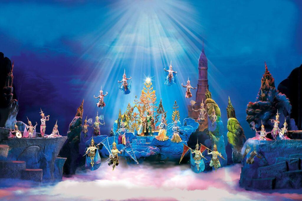 Сиам Мирамид - сцены на религиозную тематику