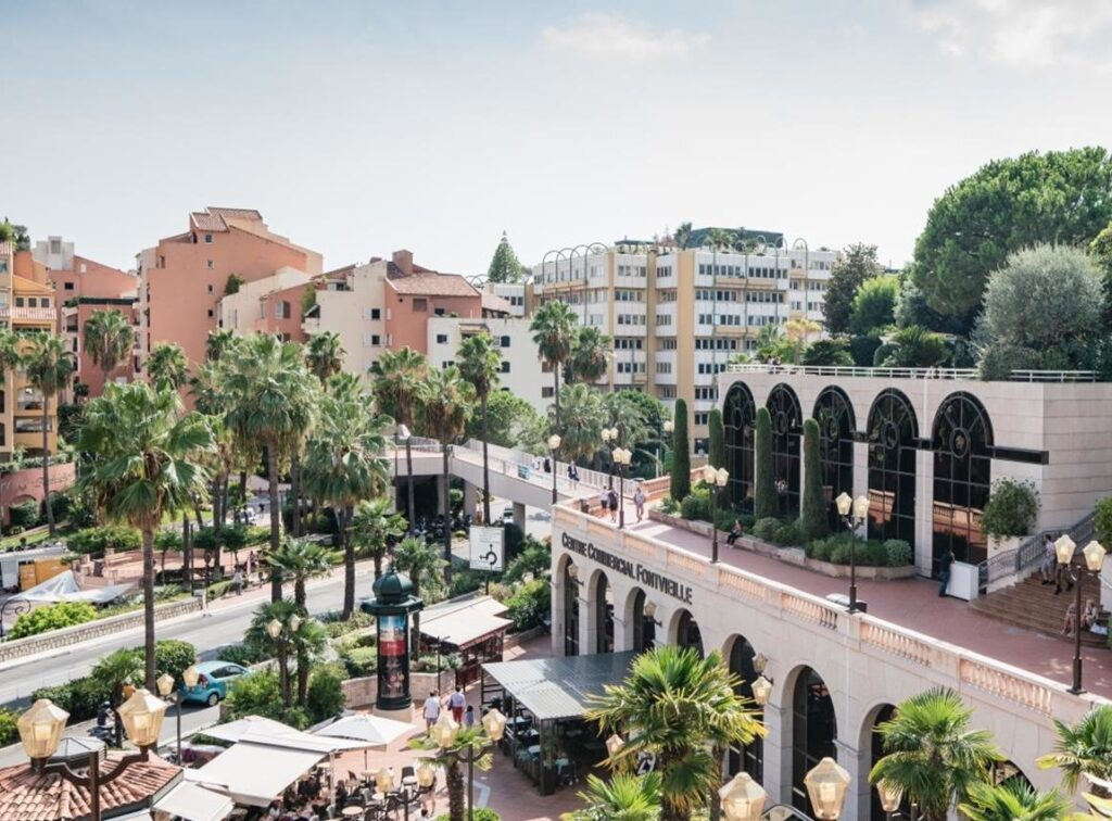 Шопинг-центр fontvieille в Монако