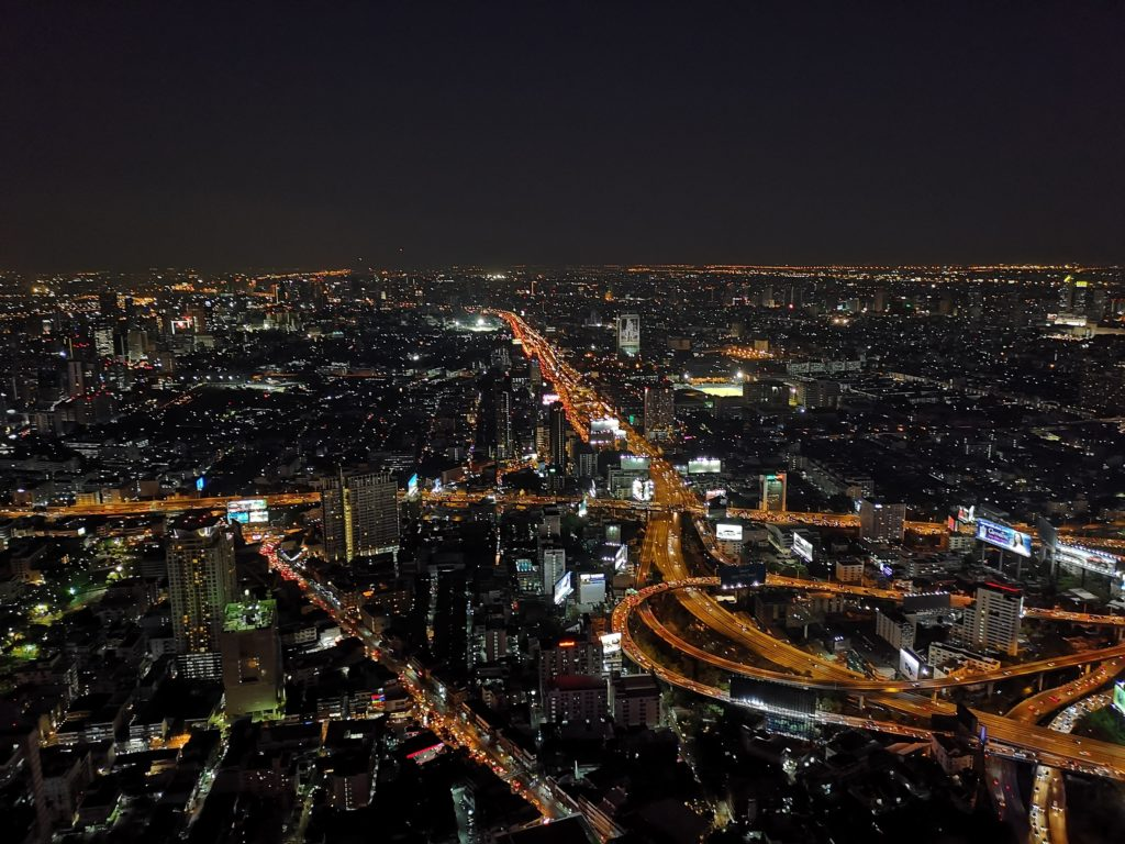Панорама города Бангкок