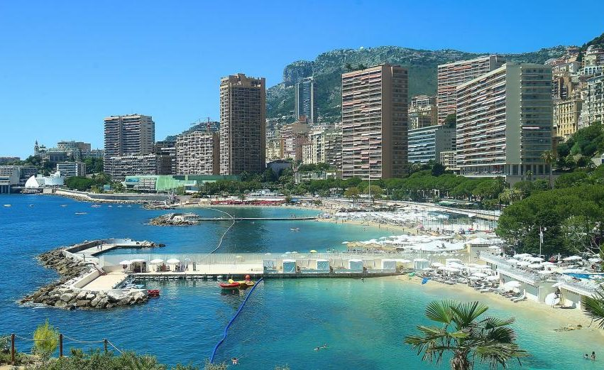 Пляж Larvotto Монако