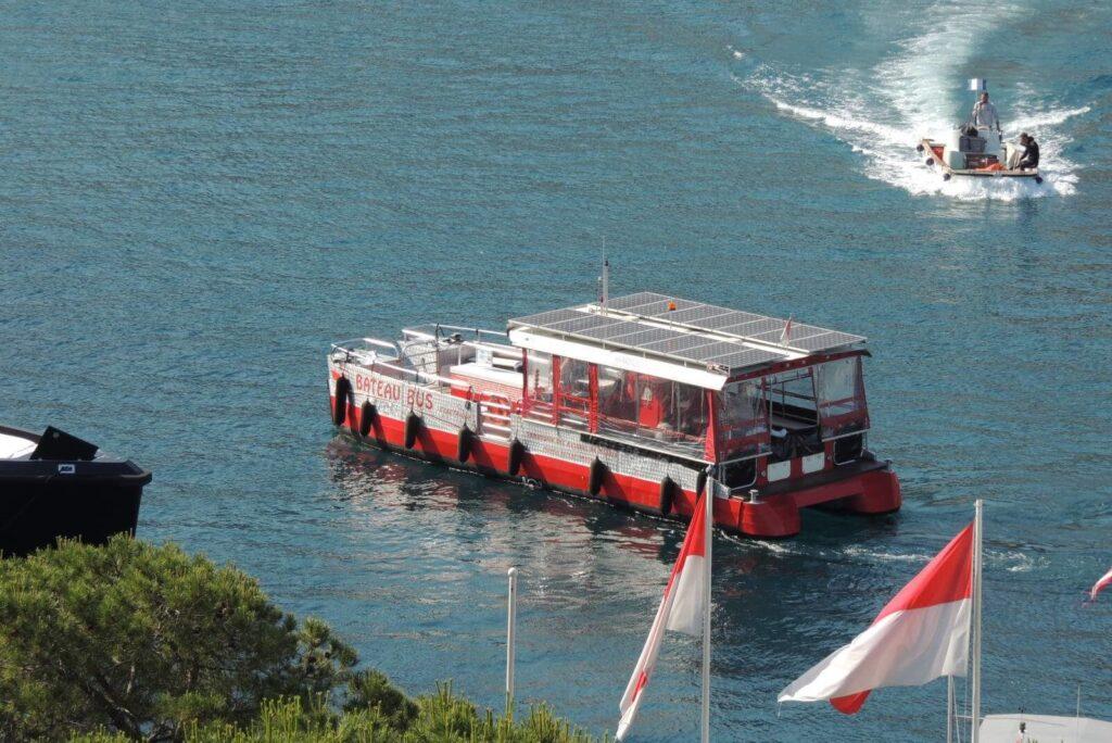 Водный автобус Монако Bateau Bus