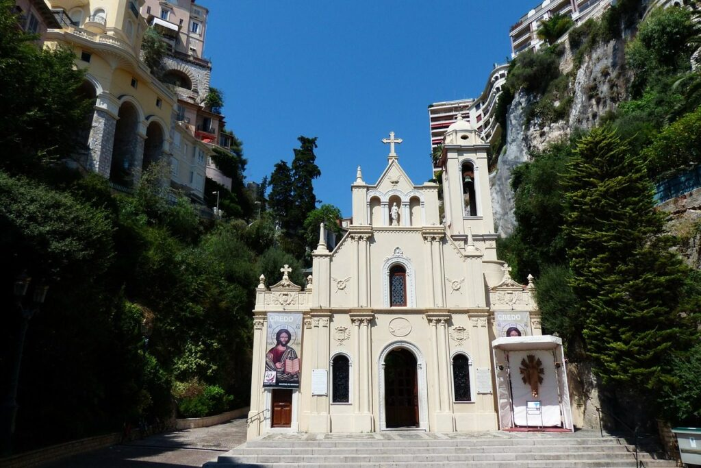 Христианская церковь в Монако