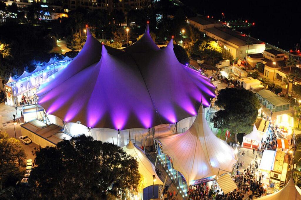 Фестиваль цирка в Монако