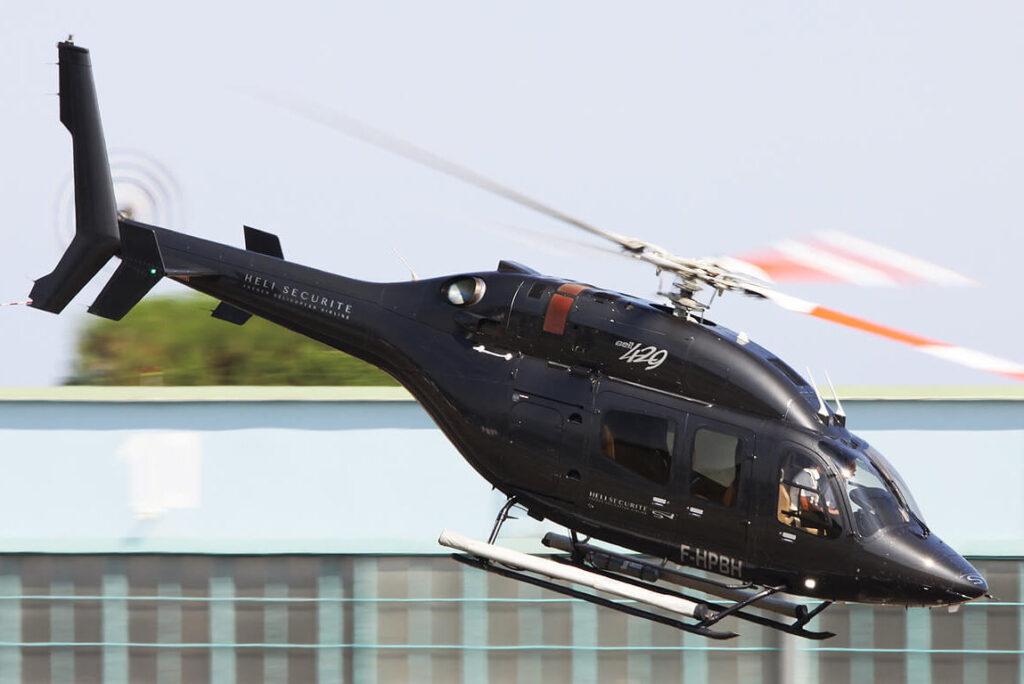 Вертолет Heli Securite в Монако