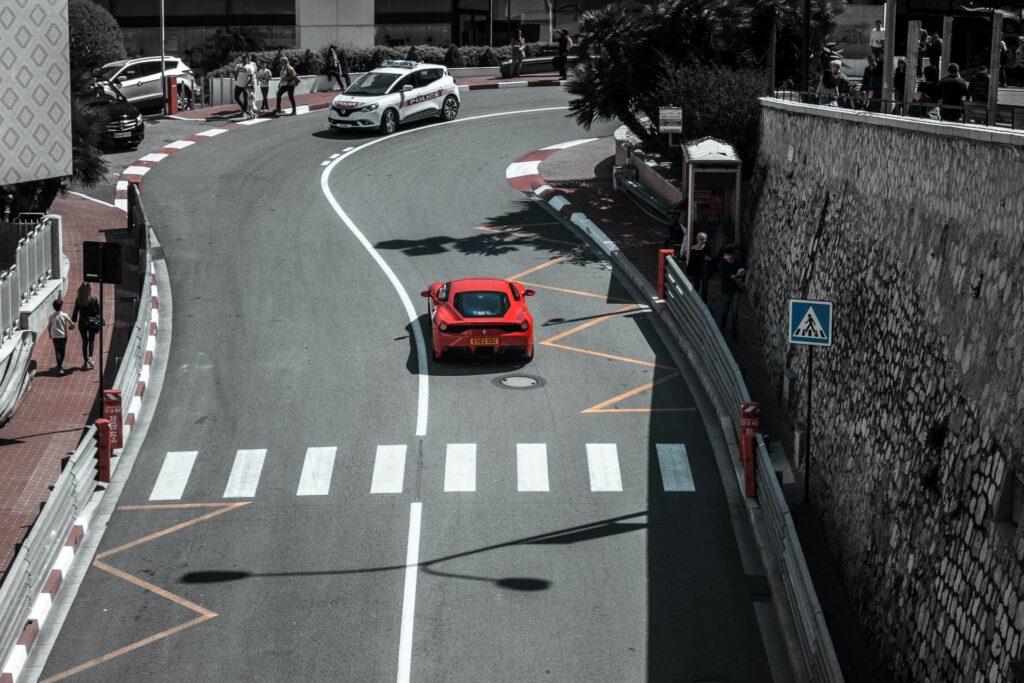 Дорога в Монте Карло Монако
