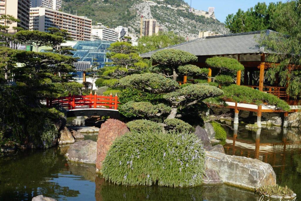 Сад Japanese Garden в Монако