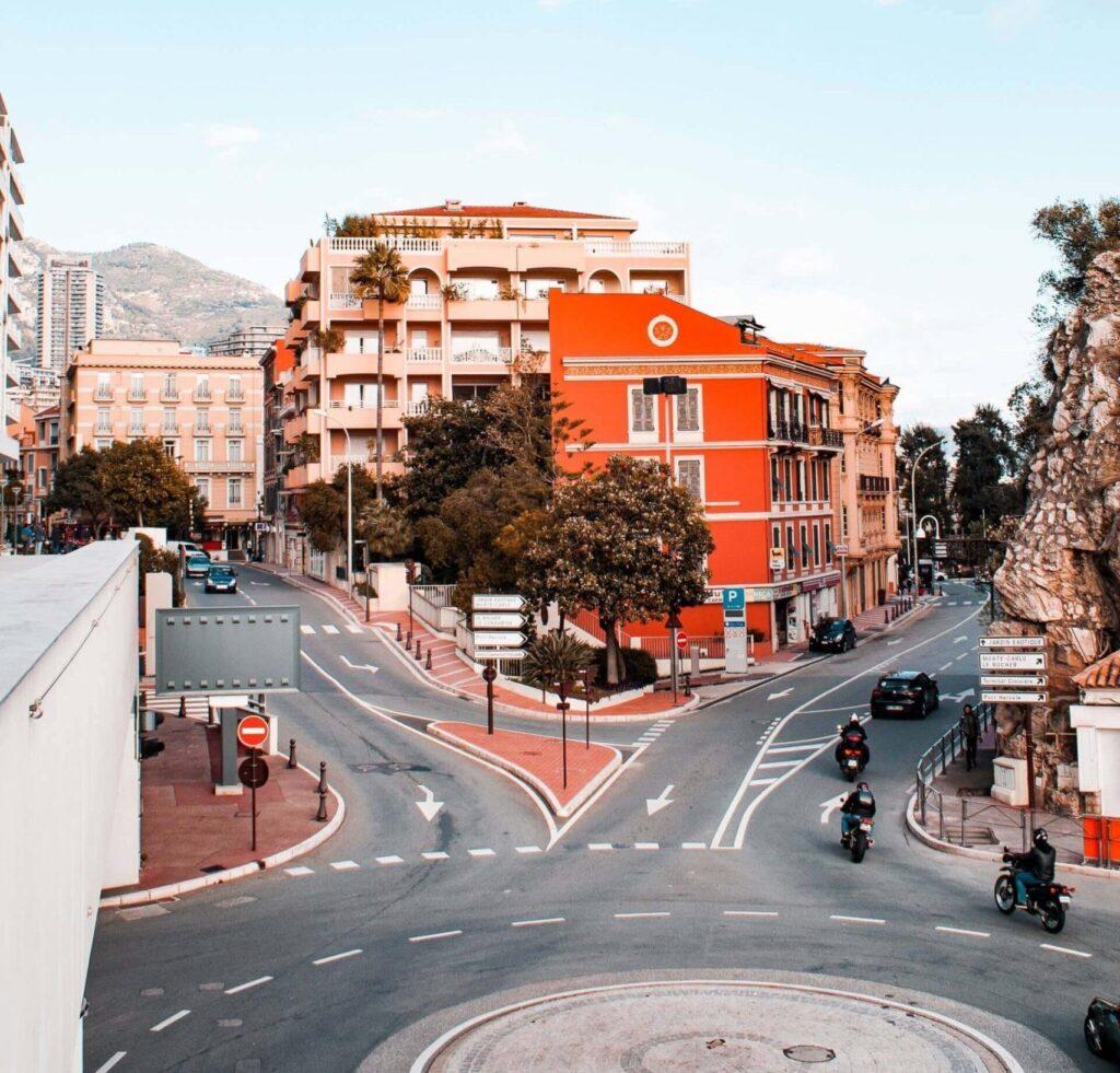 Дороги Монако