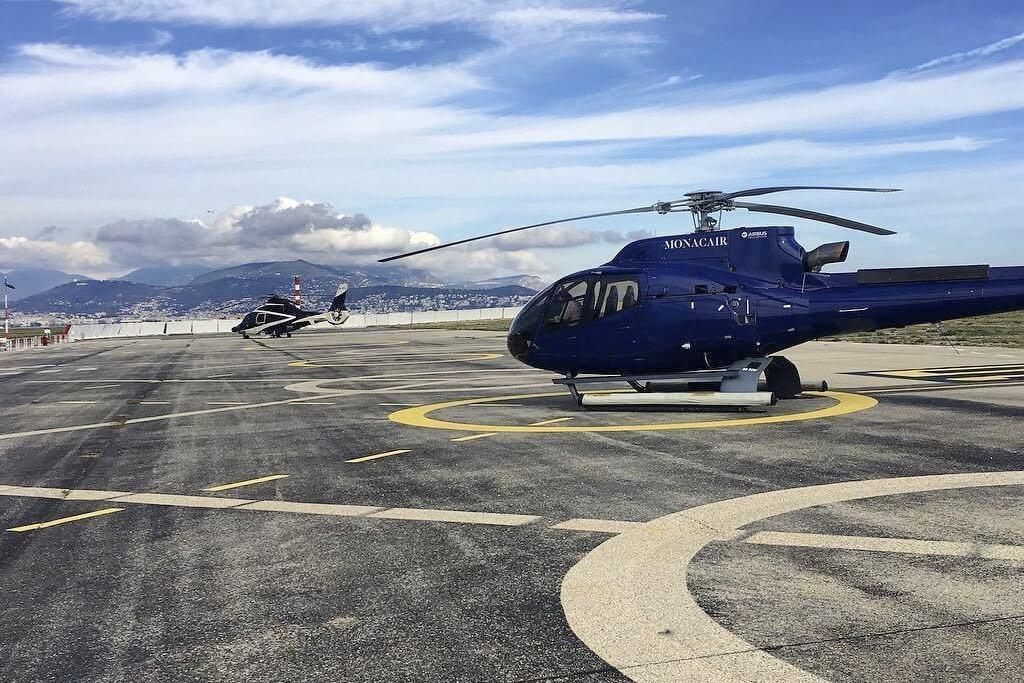 Вертолет Monacair в Монако