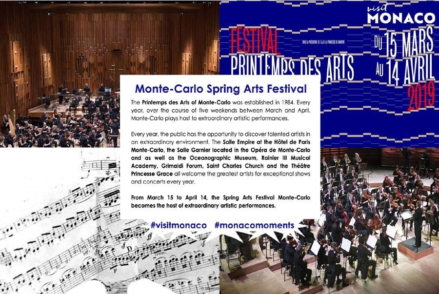 Весенний фестиваля искусств в Монако