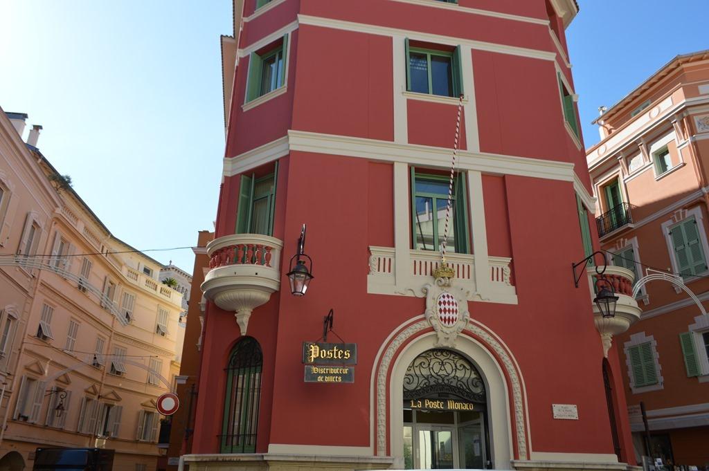 Почтовое отделение в Монако