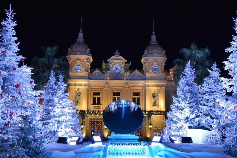 Монако в рождество