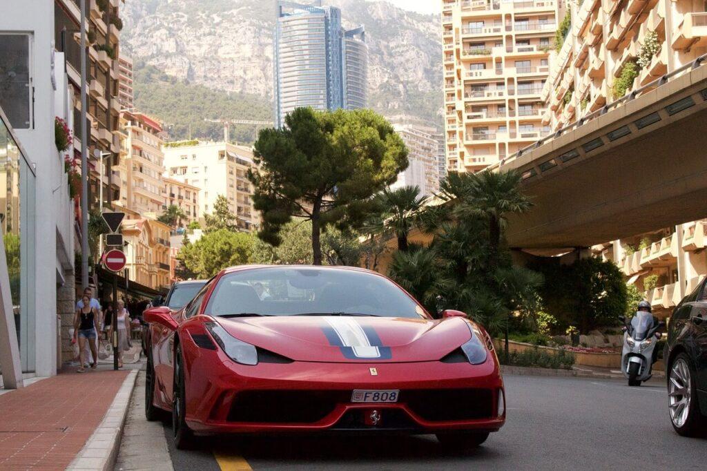Элитные авто в Монако