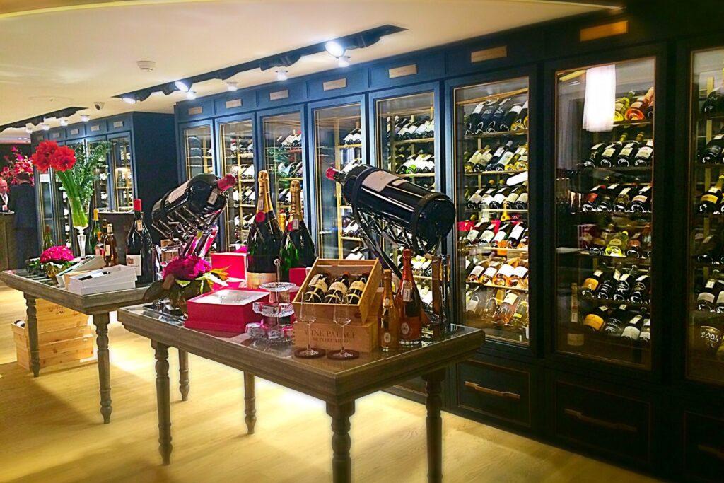 Винный магазин в Монте-Карло