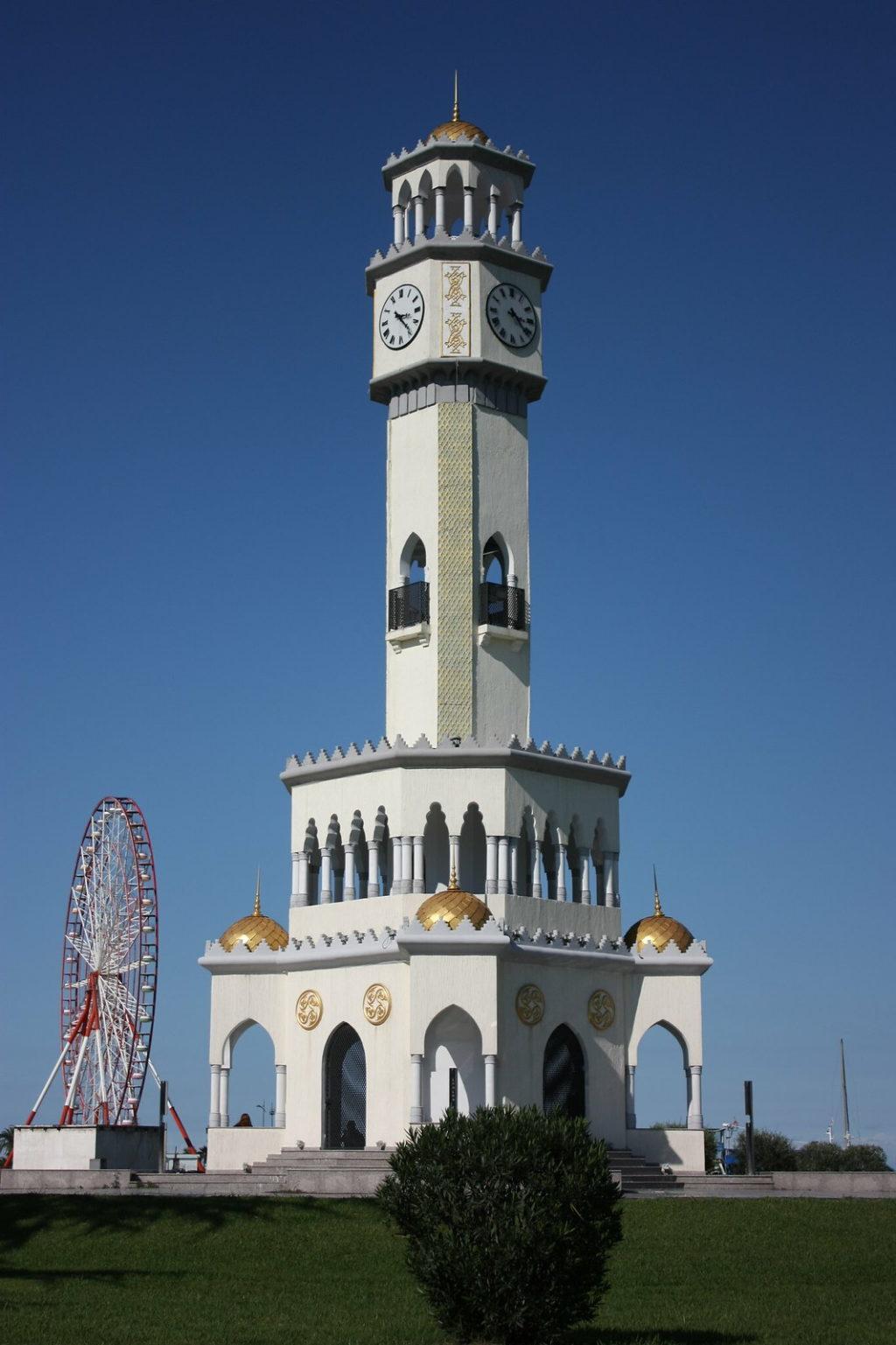 Районы Батуми - башня чачи