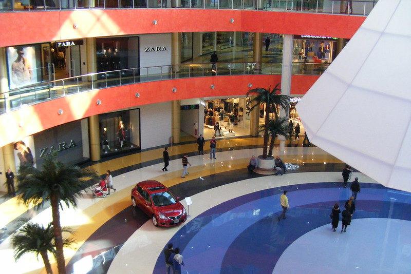 Современный торговый центр в Тбилиси - Tbilisi mall