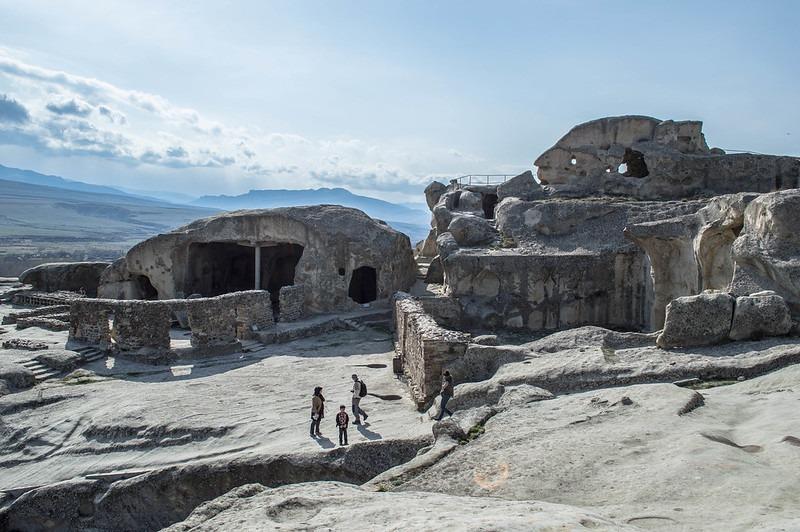 Пещерный комплекс Uplistsikhe в Тбилиси