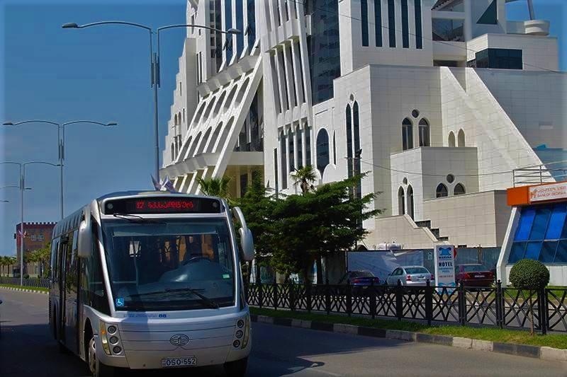 Транспорт в Батуми - автобусы