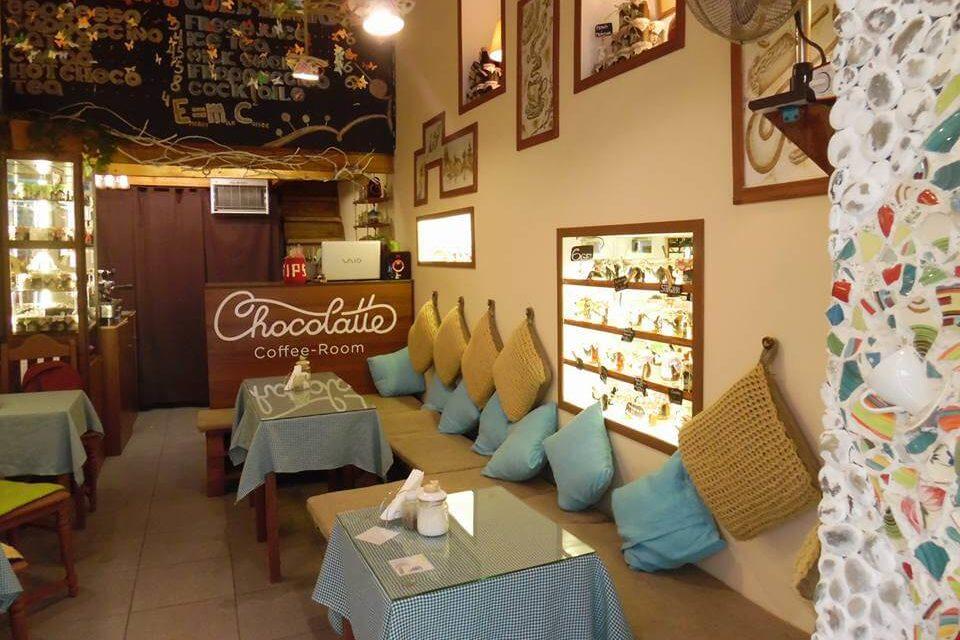 Chocolatte coffee-room семейное кафе в Батуми