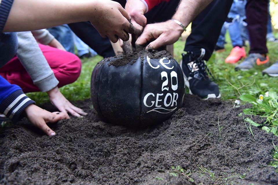 Праздничная игра Лело бурти в Грузии