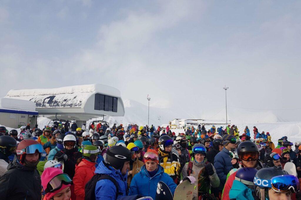 Погода в Грузии зимой - горнолыжный курорт