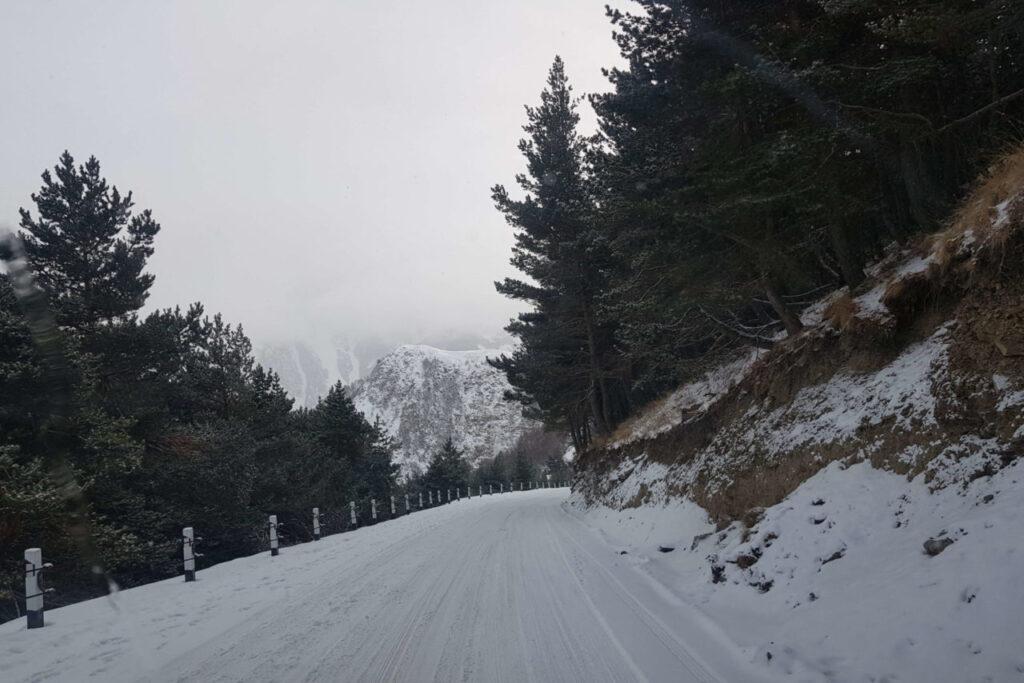 Лыжный курорт Гудаури в Грузии - опасно ли ехать в Грузию