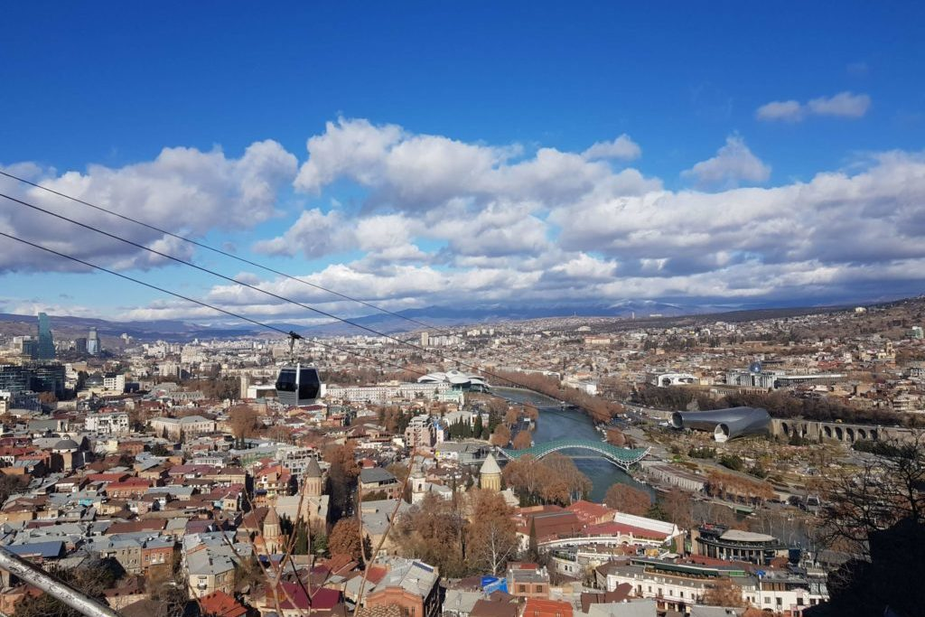 Район Мтацминда Тбилиси