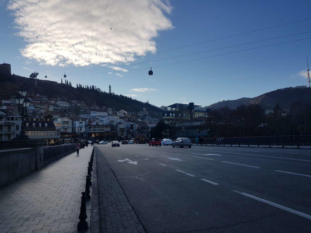 Ноябрь в Тбилиси