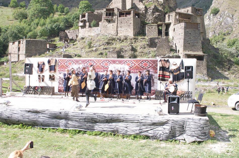 Праздник Шатилоба в Грузии