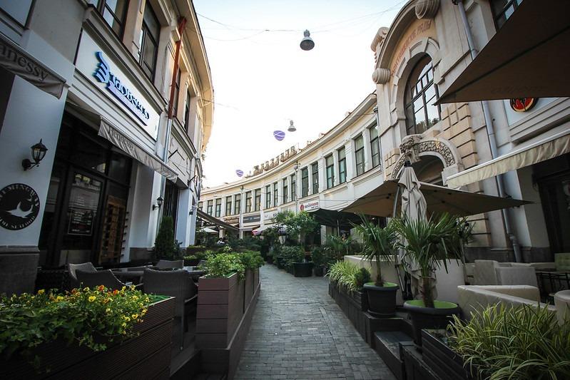 Кафе и рестораны в старом Тбилиси