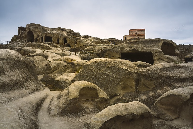 Первый город Грузии Уплисцихе