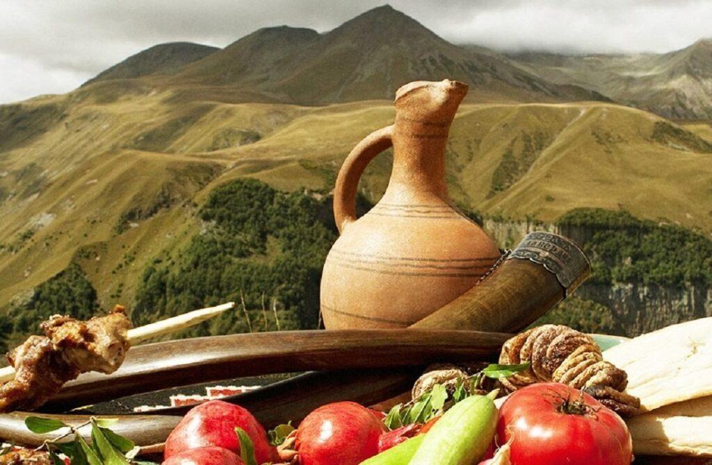 Традиционная кухня Грузии