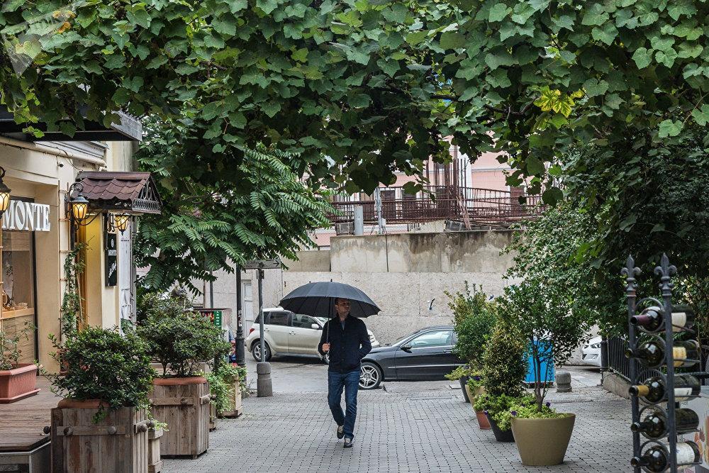 Погода осенью в Грузии