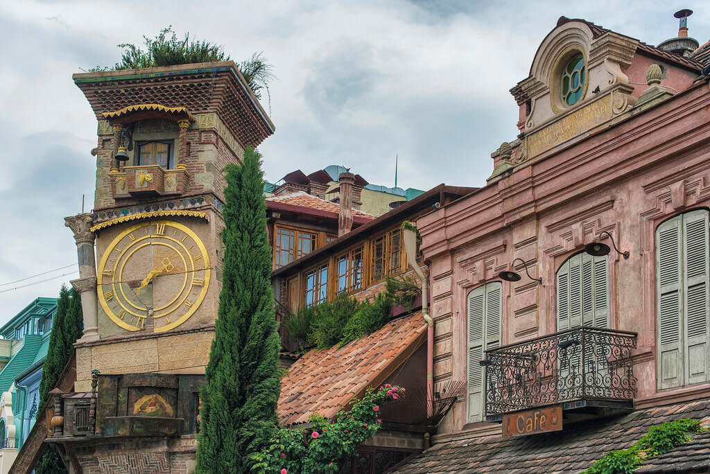 Интересное в Тбилиси - Театр Резо Габриадзе