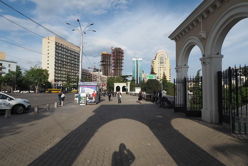 Элитный район Тбилиси Ваке