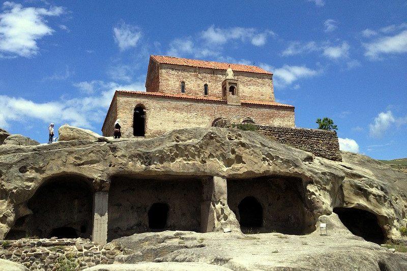 Древний город Уплисцихе Тбилиси