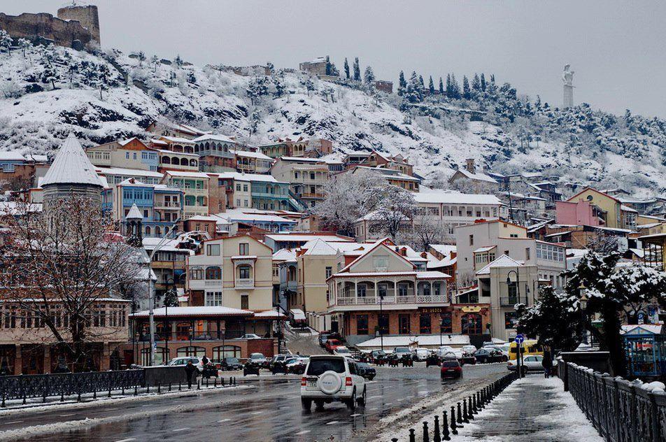Декабрь в Грузии