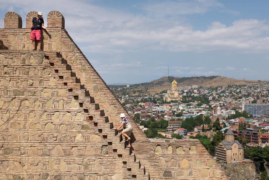 Достопримечательности Тбилиси - крепость Narikala