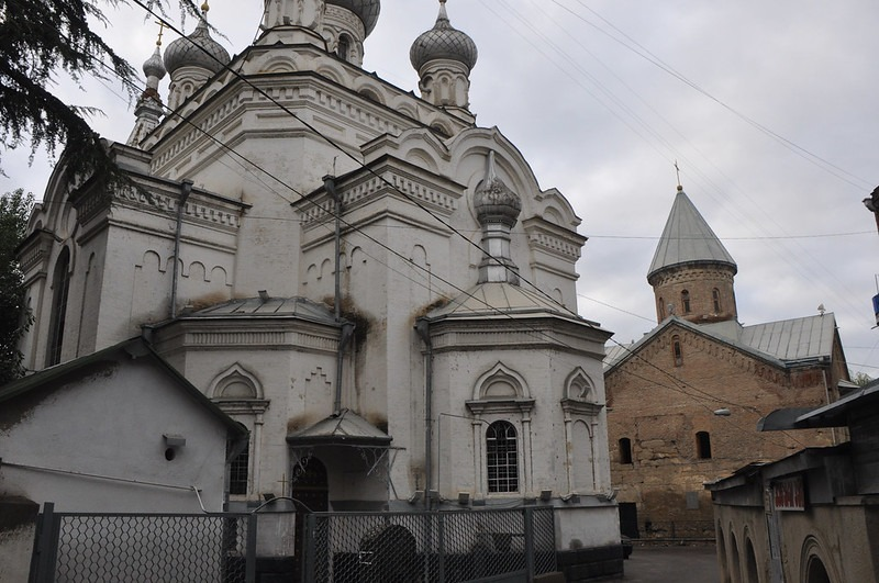 Синий монастырь Луржи Тбилиси