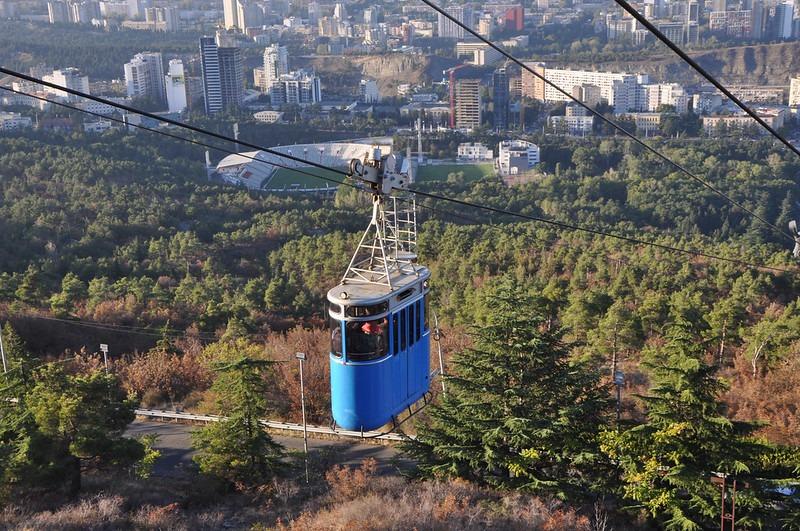 Канатная дорога Тбилиси Turtle Lake