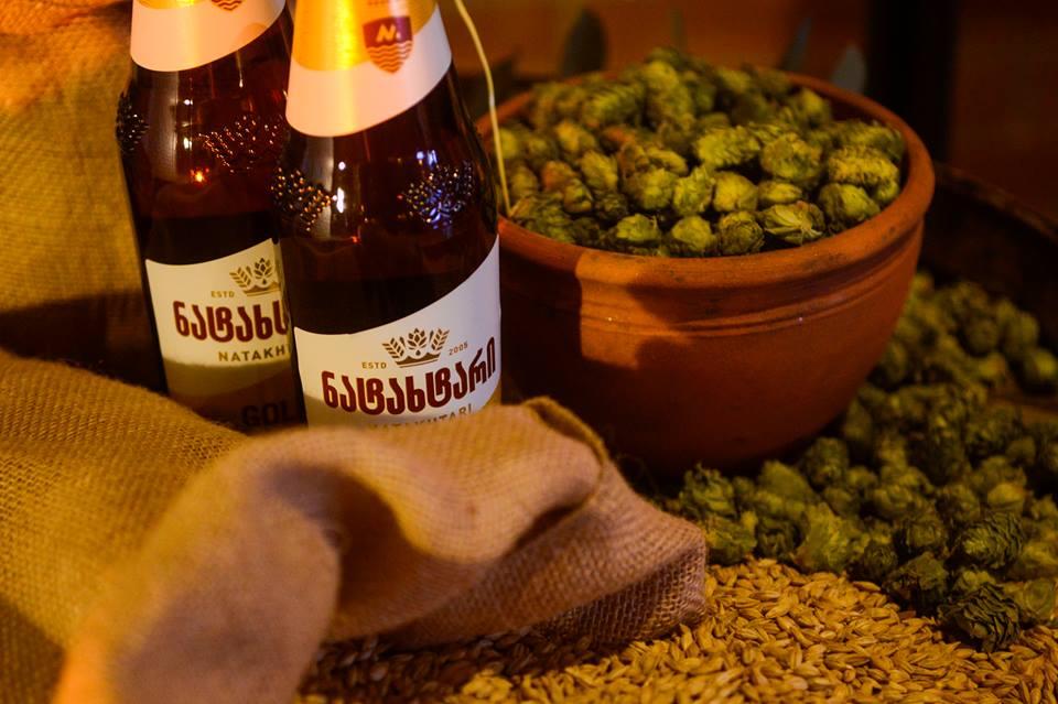 Натахтари - грузинское пиво