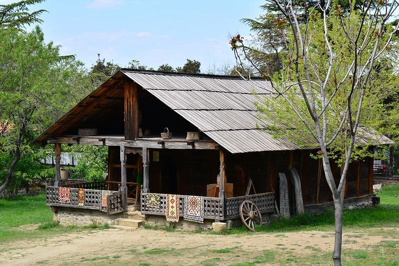 Дома в Тбилисском этнографическом музее