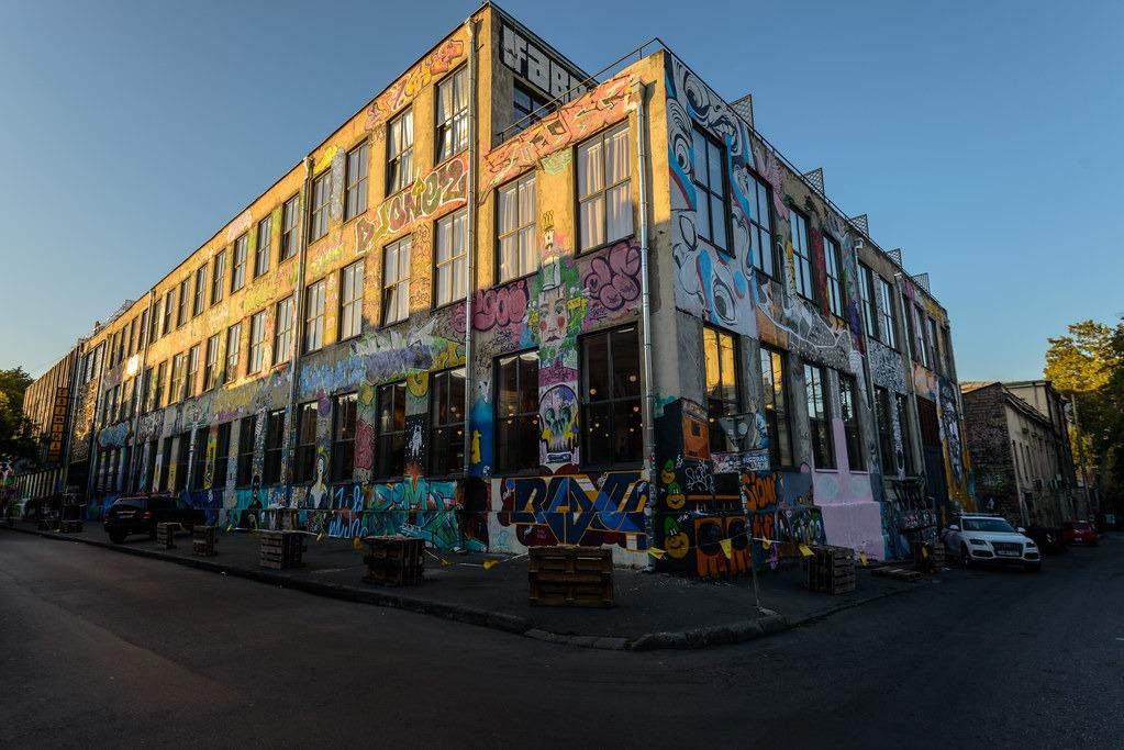 Арт пространство Фабрика в Тбилиси